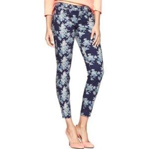 GAP | Skinny Jeans Floral Jeggings Ankle 0111